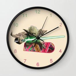Hover Yoda Wall Clock