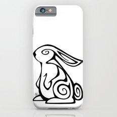 Rabbit Swirls iPhone 6s Slim Case
