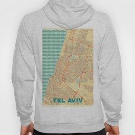 Tel Aviv Map Retro Hoody
