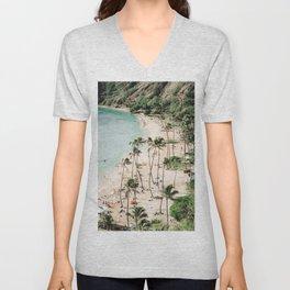 Tropical Island III Unisex V-Neck