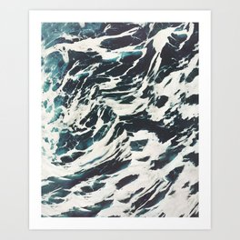 The Tossed Sea Art Print