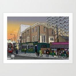 London Sunrise Art Print