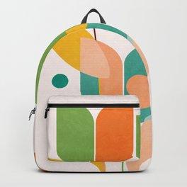 floral shapes IV Backpack