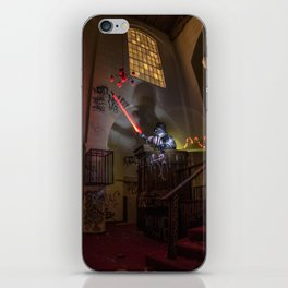 """Welcome To """"The Force Church""""  iPhone Skin"""