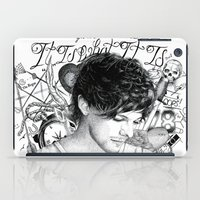 tattoos iPad Cases featuring Tattoos - L by wreckthisjessy