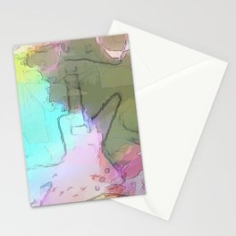Rock 'n' Roll Fantasy Stationery Cards