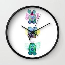 Go monstruito go Wall Clock