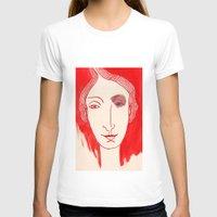 cara T-shirts featuring CARA I by María Massó