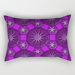 Dodecagons Rectangular Pillow