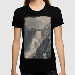 Boy on a Bridge Litho T-shirt