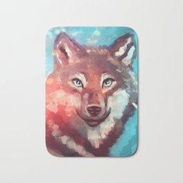 Wolf - Stare - Wanderlust Bath Mat