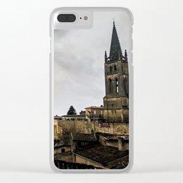 Saint Emilion Clear iPhone Case