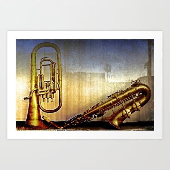 A Frenchman in North Park Art Print