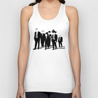 reservoir dogs Tank Tops featuring Reservoir Warriors by ddjvigo