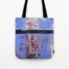 Chagrin Cornflower Blue Abstract Painting Modern Art Tote Bag