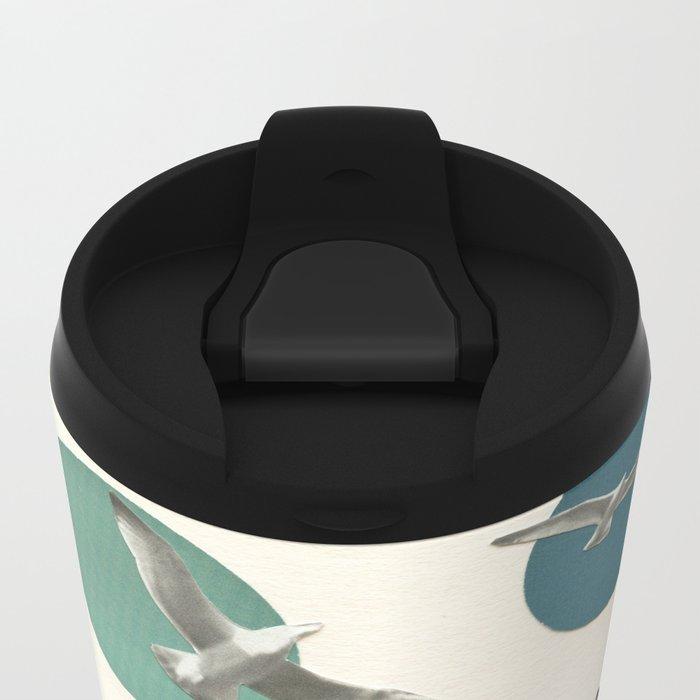 Circling Metal Travel Mug