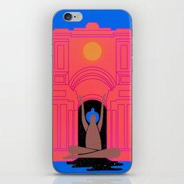 moon goddess illustration iPhone Skin
