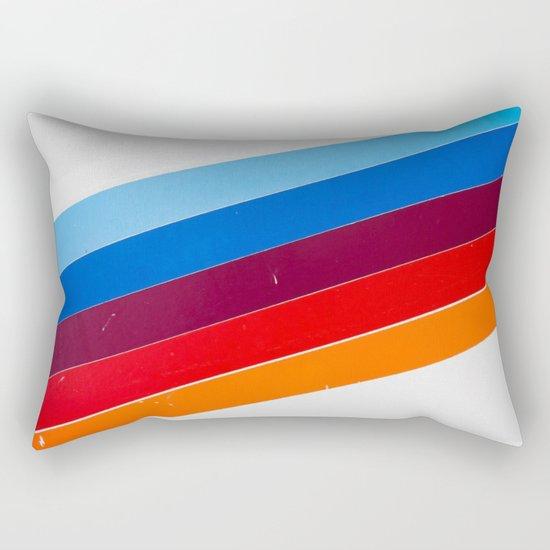 lines on lines Rectangular Pillow