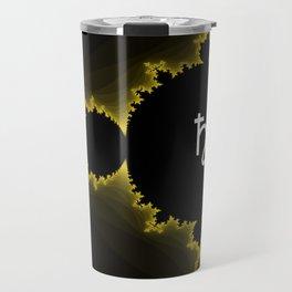 Black Borealis Travel Mug