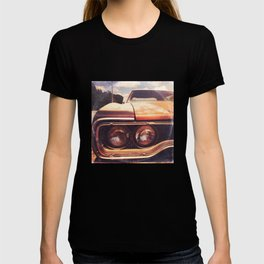 Rusty And Blue - America As Album Art T-shirt