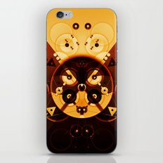 Ying-Yang Gold Cross Version iPhone & iPod Skin