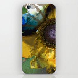 Modern Flower Art - Untamed Beauty - Sharon Cummings iPhone Skin