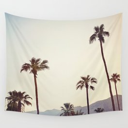 Palm Trees in the Desert Wall Tapestry