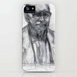 Ennio Morricone - The Portrait I iPhone Case