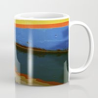 water colour Mugs featuring Water Colour by David Jessamy