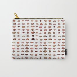 Nude lips Carry-All Pouch