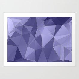 Vertices 10 Art Print