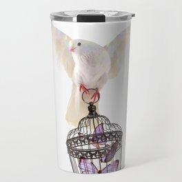 Even doves have pride Travel Mug