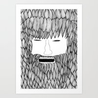 doodle Art Prints featuring Doodle by David