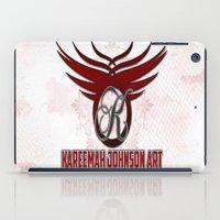 allyson johnson iPad Cases featuring Kareemah Johnson Art  by Kareemah Johnson Art