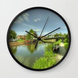 Hungerford Wharf Fishing Wall Clock