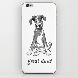 Dog Breeds: Great Dane iPhone Skin