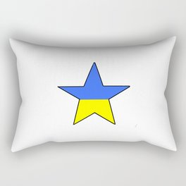 Flag of Ukraine 4 -Ukrainian,Україна, Ucrania,kiev,sevastopol Rectangular Pillow