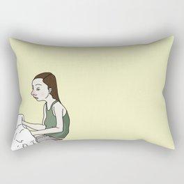 It's A Hand Thing Rectangular Pillow