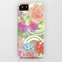 Is flowering seasons- a dream come true / 遍地花開-滿地結果 iPhone Case