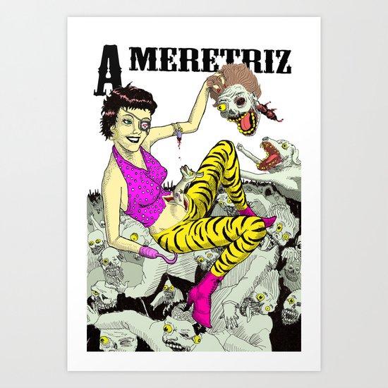 A meretriz Art Print