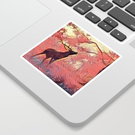 Photography Of Cool Nature Animal Art Sticker