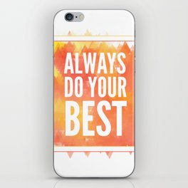 Motivation inks poster. Text lettering of an inspirational saying. Grunge paint vector element set. iPhone Skin