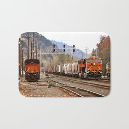 TRAIN YARD Bath Mat