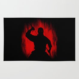 Ninja / Samurai Warrior Rug