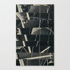Glitched Rigging Canvas Print