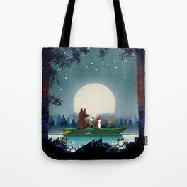 Bear and Fox Tote Bag