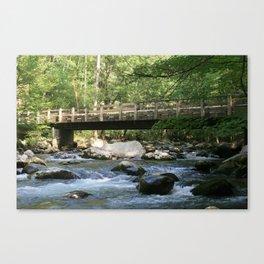 Greenbrier Bridge Canvas Print