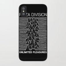 Pizza Division iPhone X Slim Case