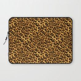 Chic Leopard Fur Fabric Laptop Sleeve