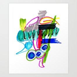 The Monster Mash Art Print